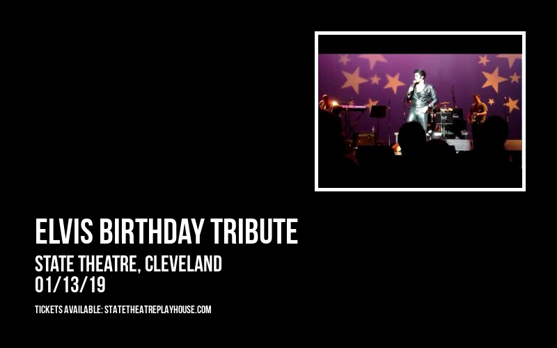 Elvis Birthday Tribute at State Theatre