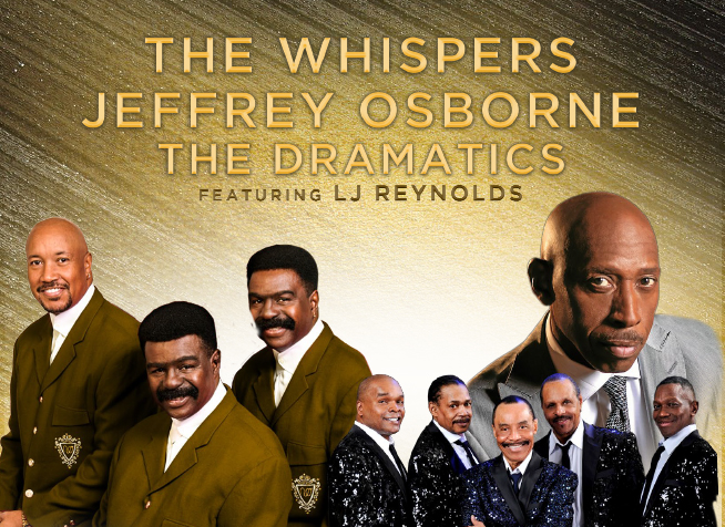 The Whispers & Jeffrey Osborne [POSTPONED] at State Theatre
