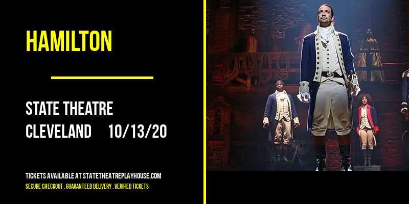 Hamilton [CANCELLED] at State Theatre