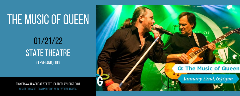 The Music of Queen at State Theatre